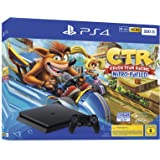 PlayStation 4 - 控制台 黑色 Crash Team Racing Bundle