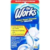 The Works Bleach Automatic Toilet Bowl Cleaner 3.5 oz