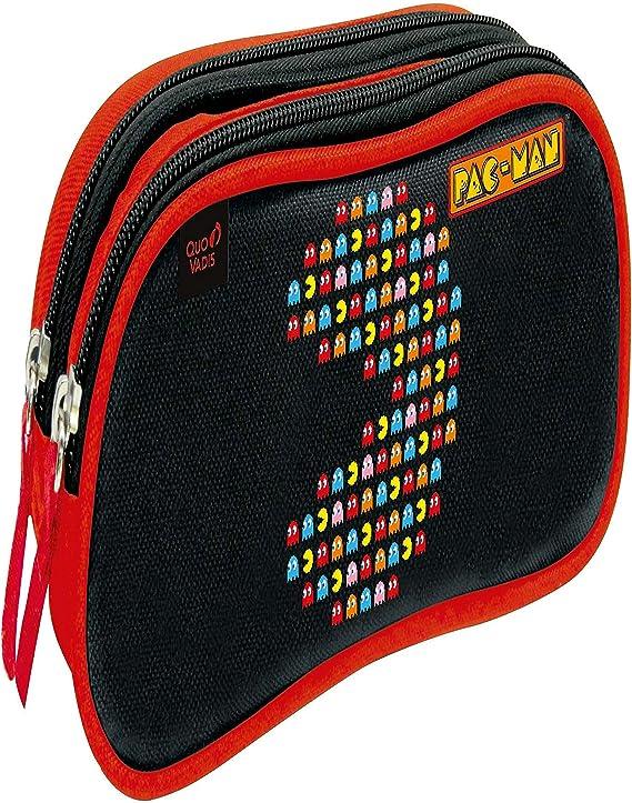 Estuche 2 Comp Pacman Person: Amazon.es: Oficina y papelería