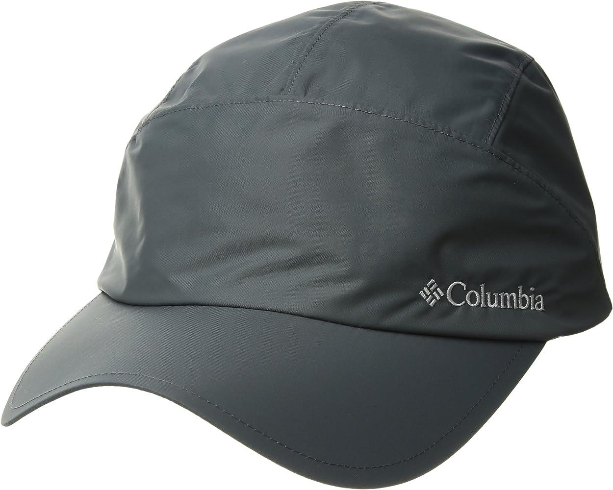 Columbia Gorra unisex, Watertight Cap, Nailon, Gris (Graphite ...