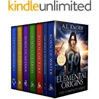 Elemental Origins: The Complete Series: (Water, Fire, Earth, Air, Aether, Ensemble Novel)