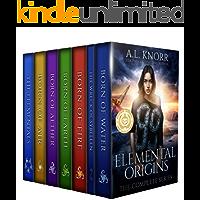 Elemental Origins: The Complete Series Bundle: (Water, Fire, Earth, Air, Aether, Ensemble Novel)