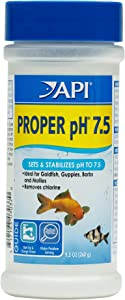 API Proper pH 7.5 Freshwater Aquarium Water pH Stabilizer 9.2-Ounce Container, Proper PH 7.5 PWDR JAR-Small