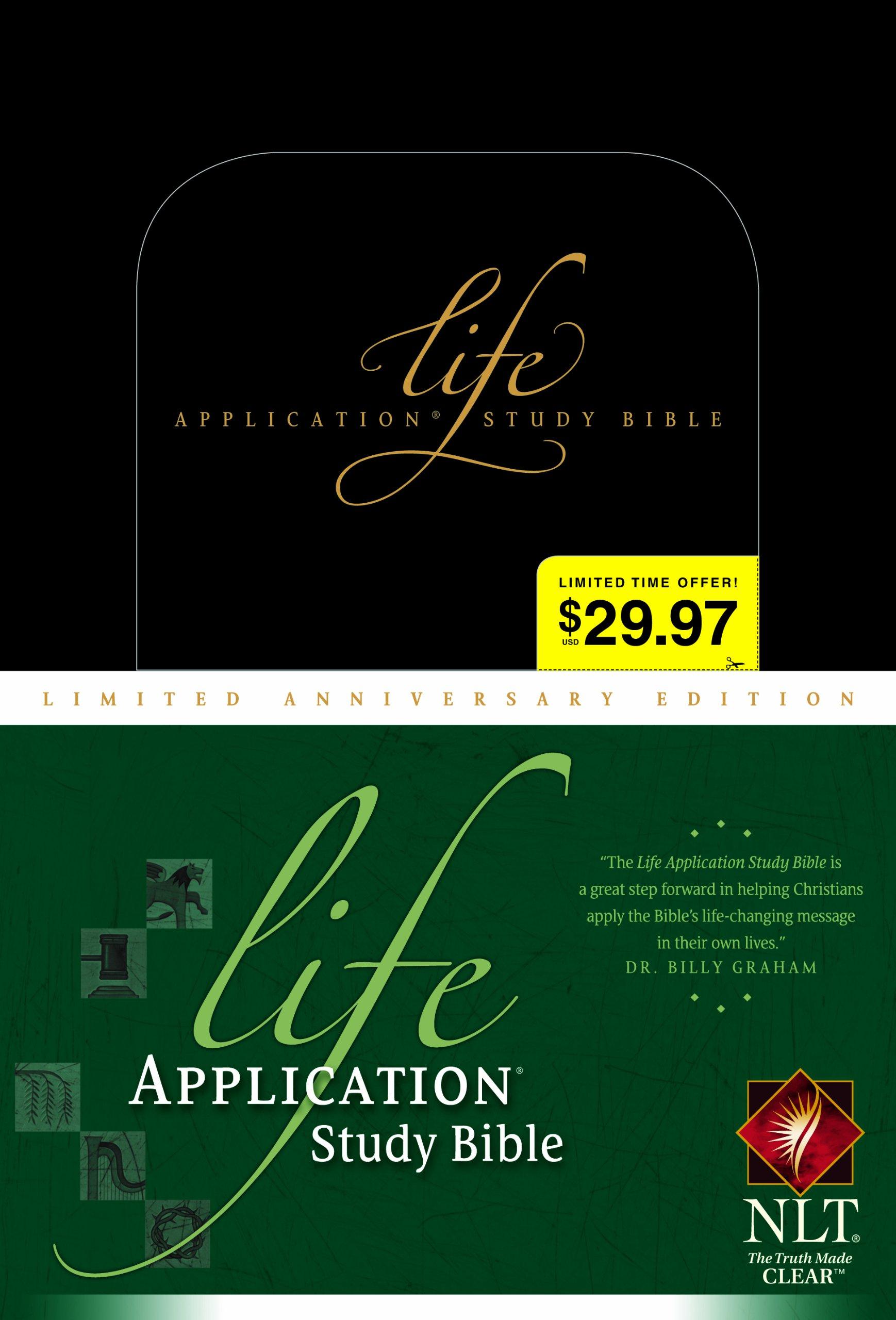 Download Life Application Study Bible NLT, Limited Anniversary Edition pdf epub