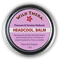 Wild Thera Migraine Headache Balm with Headache Essential Oils. Herbal Headache...
