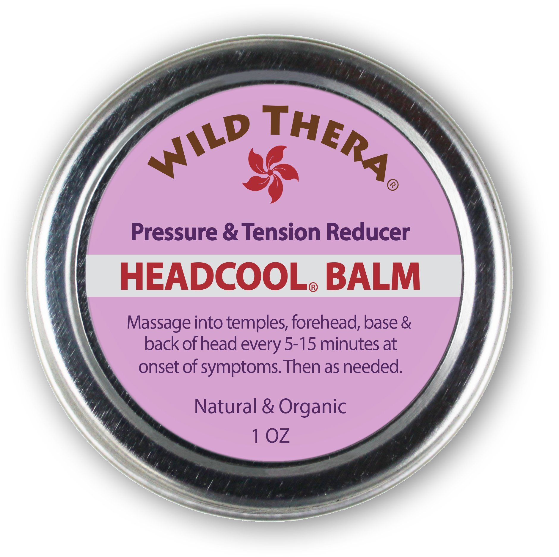 Headache Migraine Relief. Herbal Balm with Essential Oils for Sinus Headache, Nausea Headaches, Stress & Anxiety Relief. Can be used with Headache Hat, Migraine mask, Ice pack and Aromatherapy.