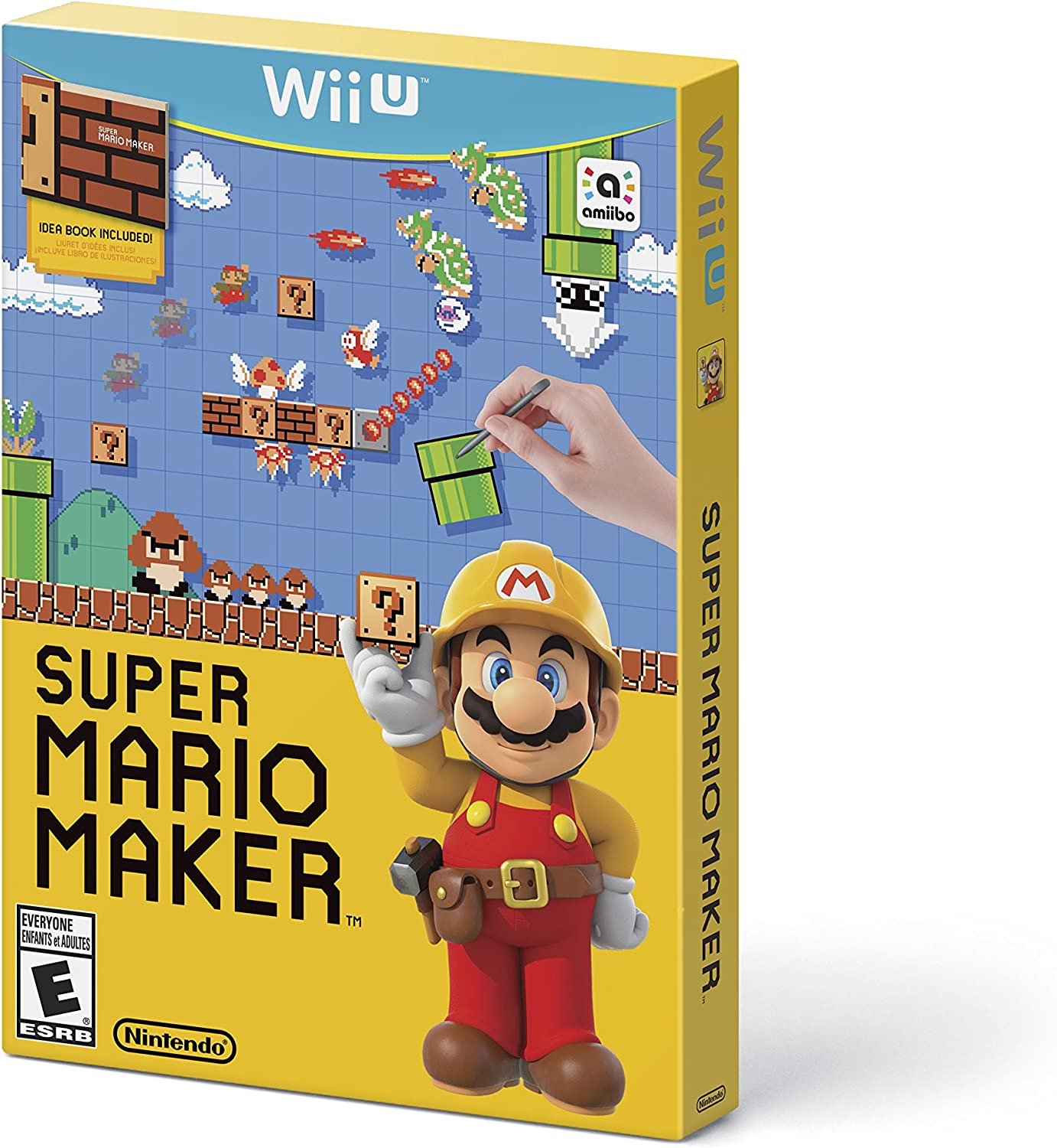 d61f0d48f2 Amazon.com: Super Mario Maker - Nintendo Wii U: Nintendo of America: Video  Games