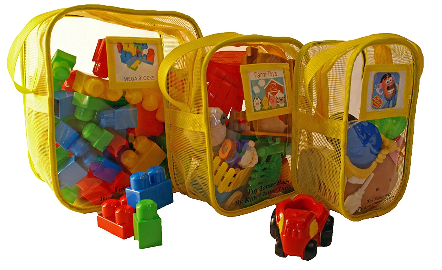 Amazon.com: Toy Tamer Bag - Toy Organizer (large, red): Baby