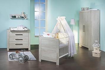 Schardt Kinderzimmer Nordic Cascina - Bett, Wickelkommode, Schrank ... | {Schardt kinderzimmer 62}