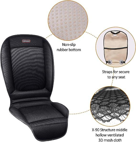Amazon.com: SNAILAX - Cojín de asiento de coche con ...