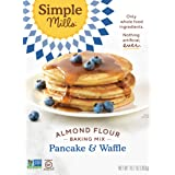 Simple Mills Almond Flour Mix, Pancake & Waffle, Naturally Gluten Free, 10.7 oz, Pack of 3 (PACKAGING MAY VARY)
