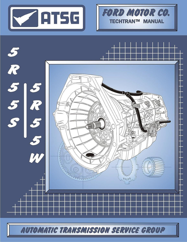 Atsg 5r55s 5r55w Automatic Transmission Repair Manual Diagram Rebuild Kit Filter Best Book