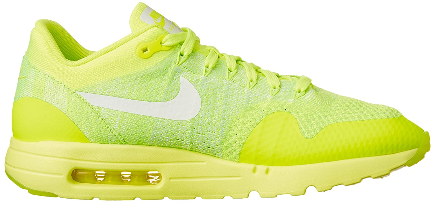 newest collection 5483b 655c2 Nike Air Max 1 Ultra Flyknit Mens Running Trainers 843384 Sneakers Shoes  (US 11, Volt Electric Green 701)  Buy Online at Low Prices in India -  Amazon.in