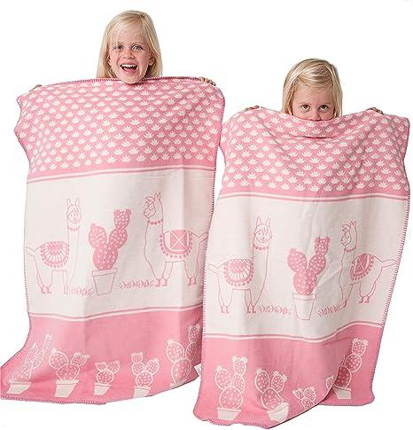 sonnengruss – Baby – Manta para niñas y niños en 100% algodón orgánico,