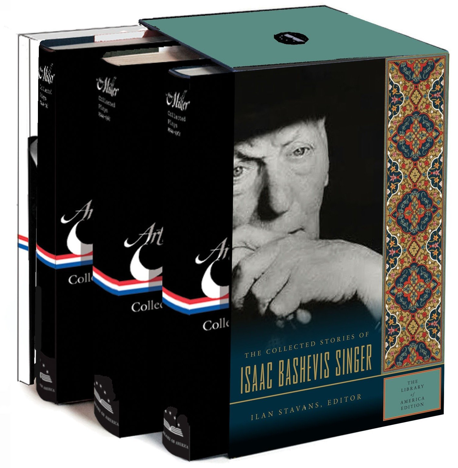 Isaac Bashevis Singer: The Collected Stories: A Library of America Boxed Set by Library of America