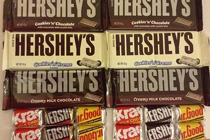 Hersheys Huge 18 American Chocolate Selection Gift Box Hamper Specially Branded In Our Sweet Shop Present Box 2 Big Hersheys Cookies N Chocolate