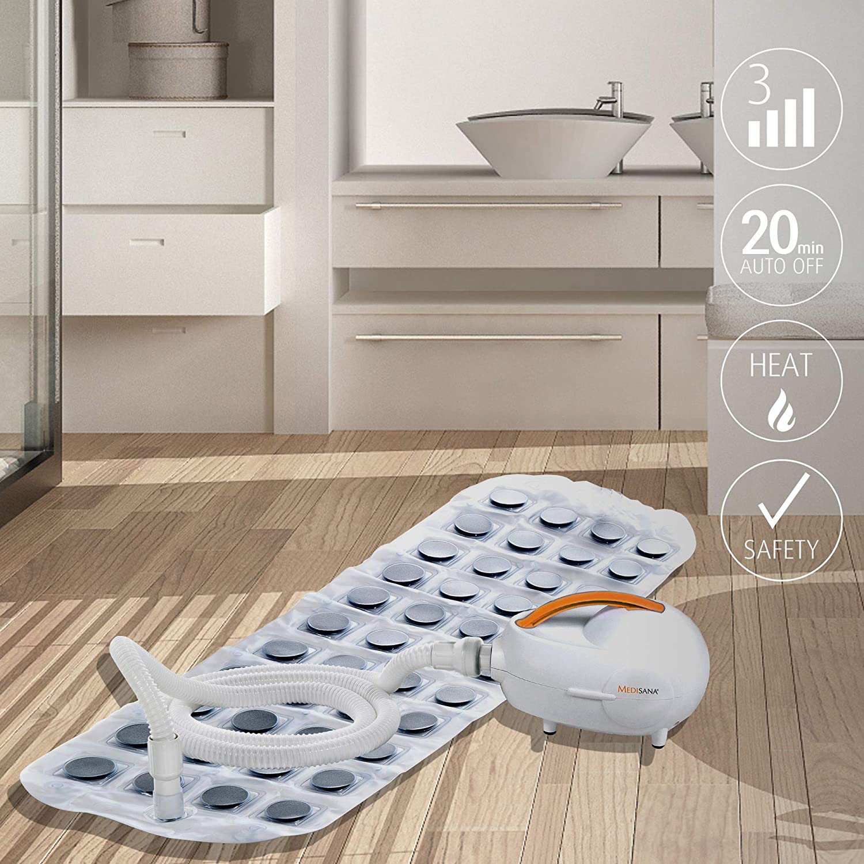 Generation Whirlpoolmatte mit Aromaspender mit Fernbedienung 3 Intensit/ätsstufen f/ür die Lockerung von verspannter Muskulatur Medisana MBH Luftsprudelbad f/ür jede Badewanne geeignet 1