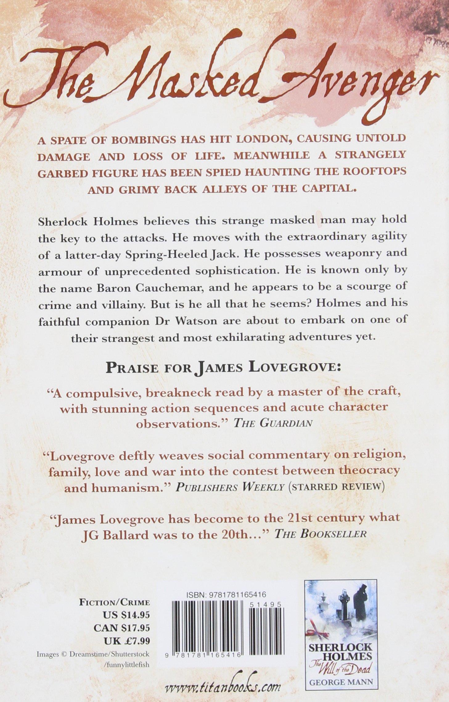 Amazon: Sherlock Holmes: The Stuff Of Nightmares (8601200699319): James  Lovegrove: Books