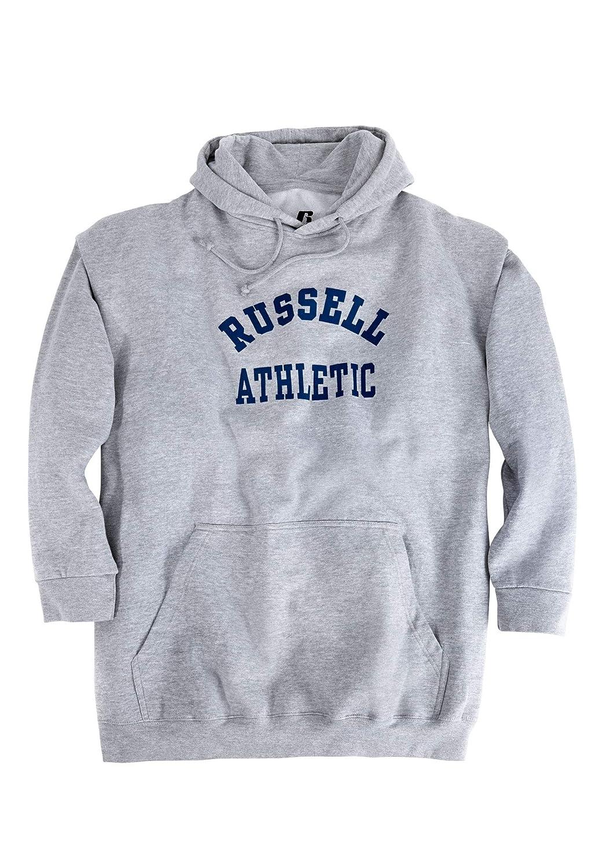 Russell Big and Tall Mens Active Fleece Pullover Hoodie Sweatshirt