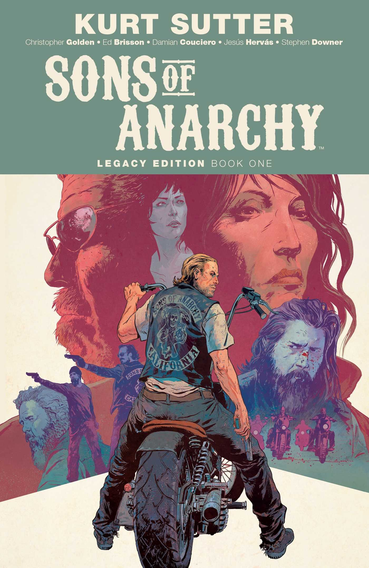 Anarchy sons book of
