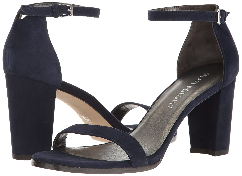 Stuart Weitzman Women's Nearlynude Heeled US Nice Sandal B017MWIJW4 11.5 B(M) US Nice Heeled Blue 343cea