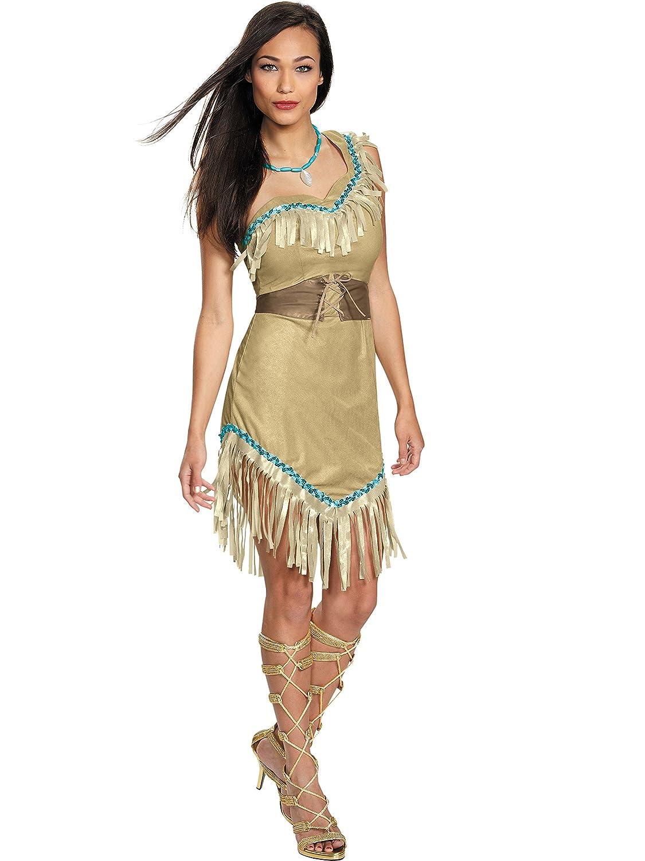 5af84e7e63e Disney Disguise Women's Pocahontas Deluxe Adult Costume