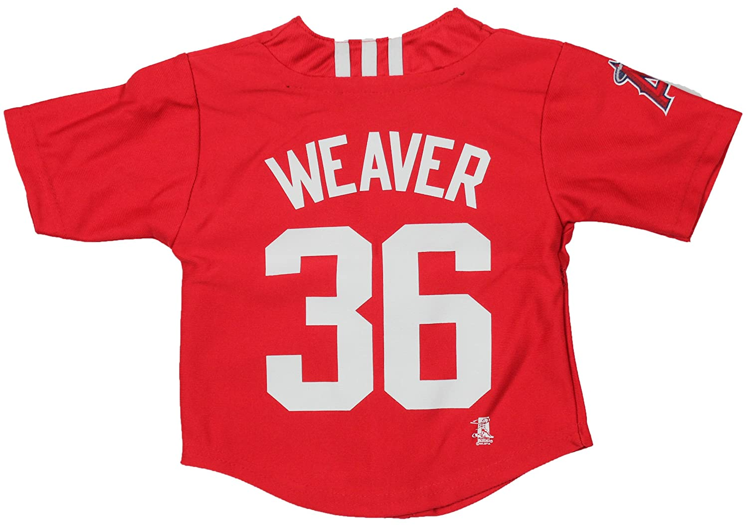 87fd089b7 Amazon.com : adidas MLB Los Angeles Angels Infant Jered Weaver Jersey :  Clothing