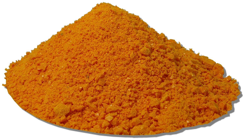 100 g Siegelwachs Granulat elastisch Orange   weich und flexibel