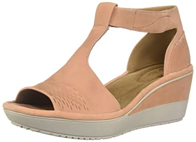 564aac80bb3 CLARKS Womens Wynnmere Avah Wedge Sandal