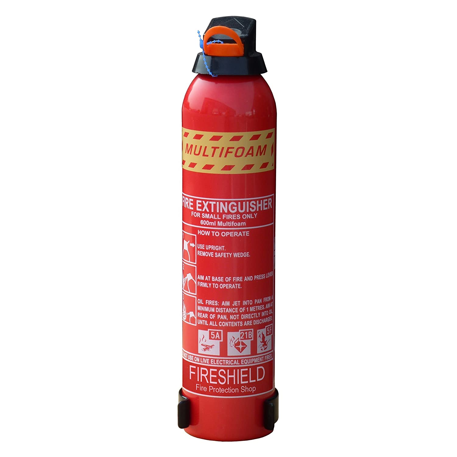 FireShield 600ml Cooking Fire Extinguisher - ABF MultiFOAM for Home & Leisure FireProtectionShop