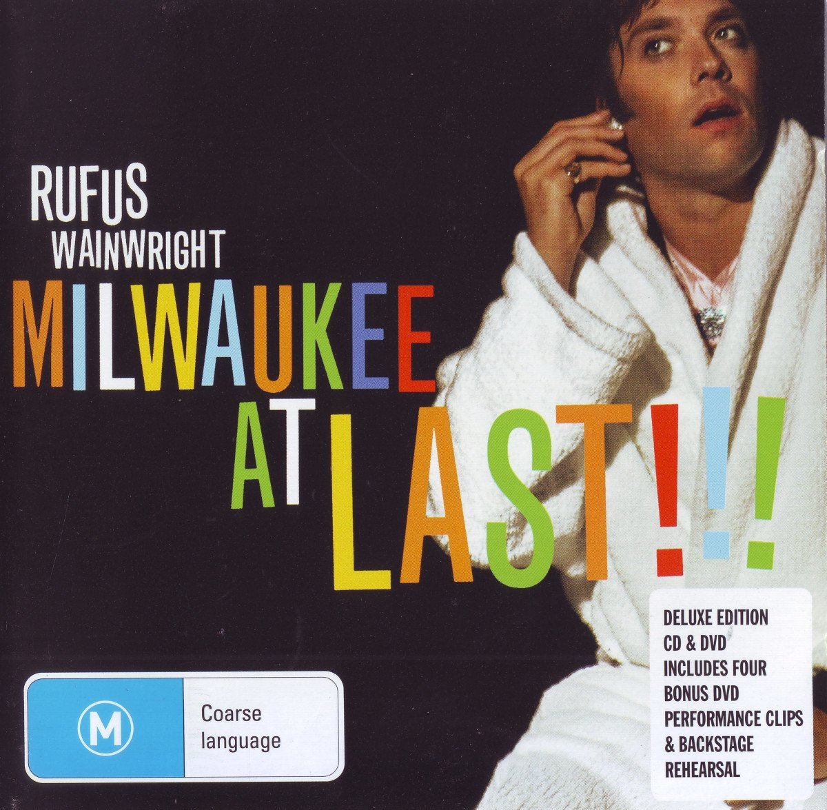 Milwaukee at Last!!! (Monster Music Deluxe CD + Audio DVD)