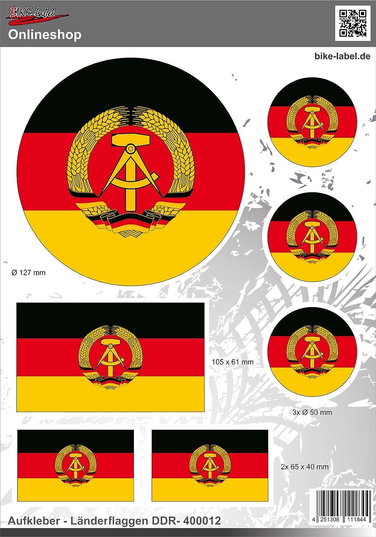 Aufkleber 2d 400012 Länderflaggen Ddr Auto