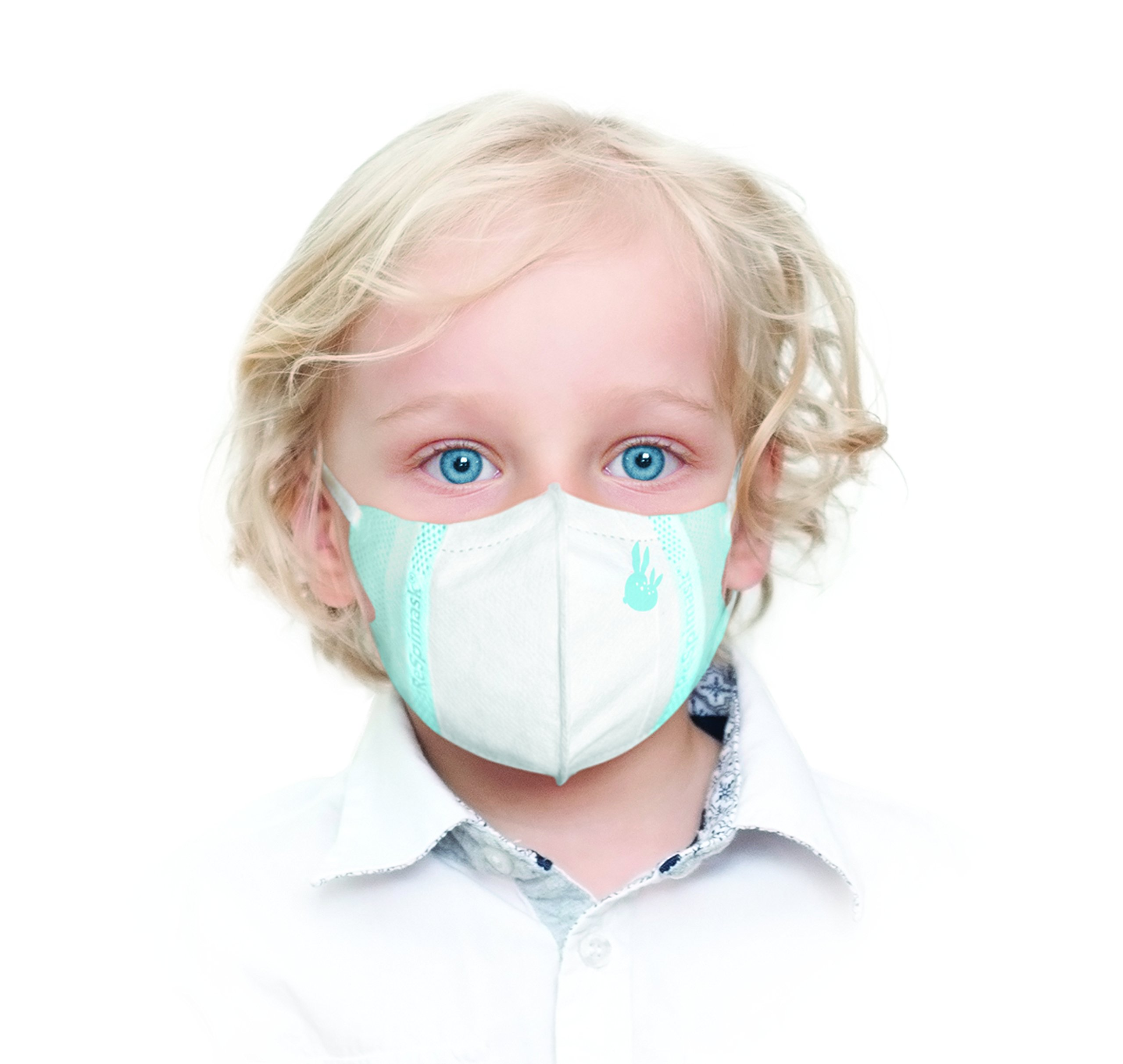 ReSpimask® (10 pack) Antiviral Face Mask – Bacteria, Virus, Dust, Smog, Allergy 99.9% Protection (S)