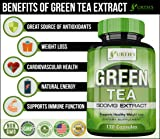 Green Tea Extract Supplement with EGCG - 120 Day