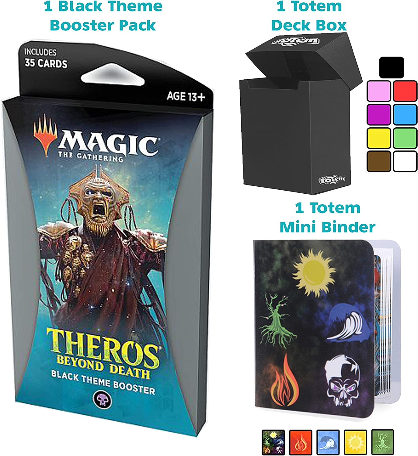 Totem World Theros Beyond Death Black Theme Booster Pack Magic The ...