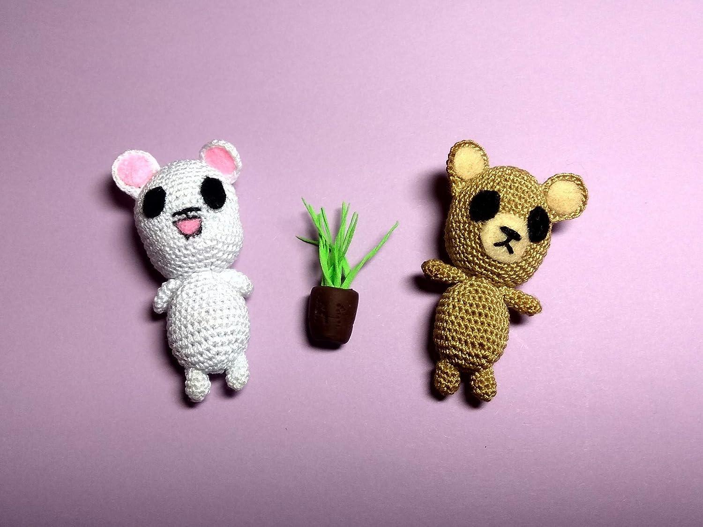 Crochet Mini Bear | 1125x1500