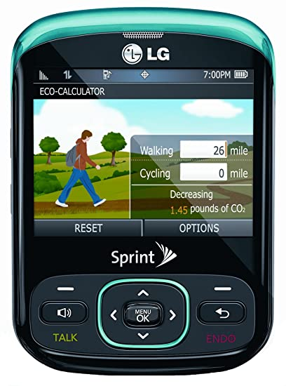 amazon com lg remarq phone turquoise sprint cell phones rh amazon com Samsung Trender Specs Samsung Replenish
