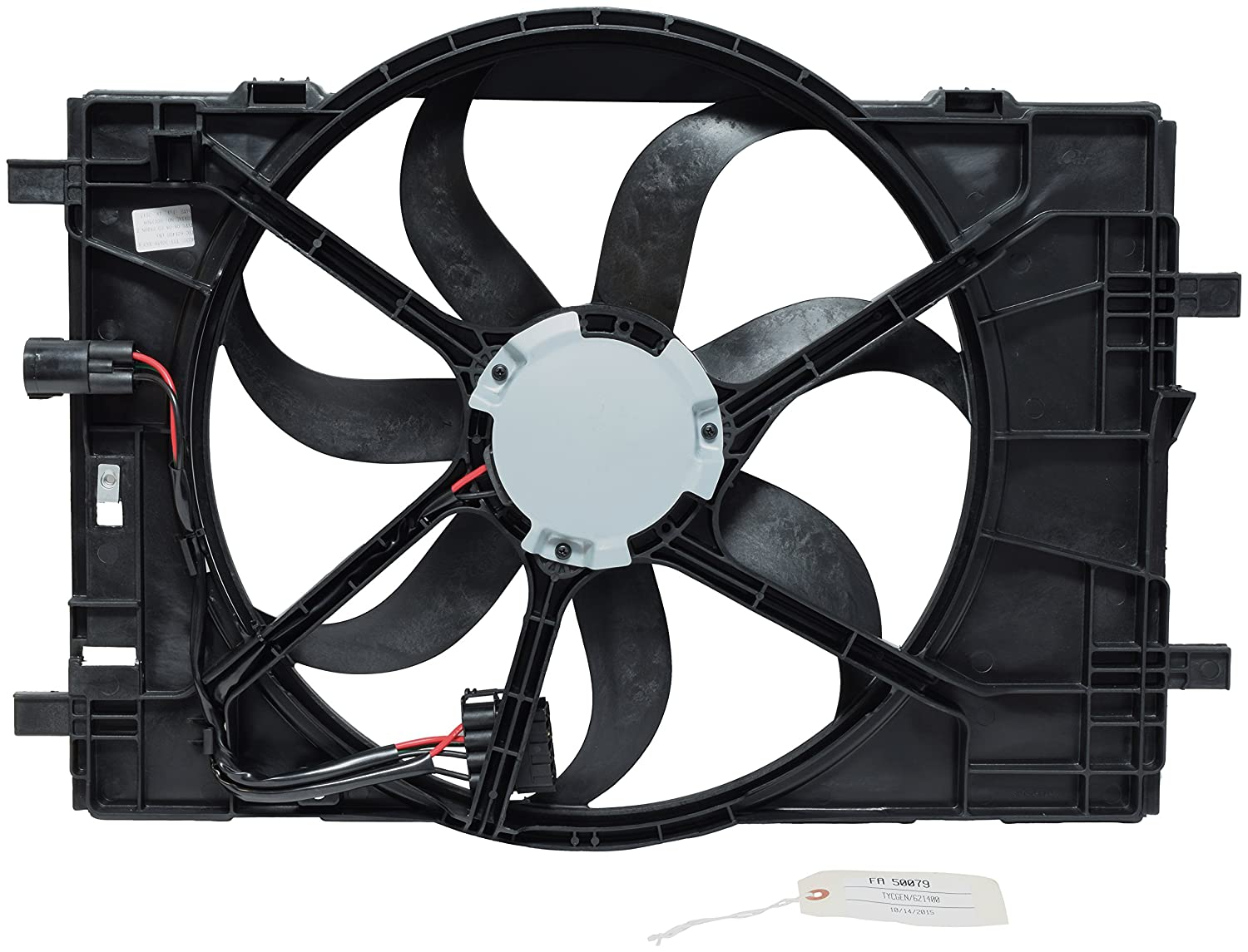Universal Air Conditioner FA 50079C Engine Cooling Fan Blade UAC