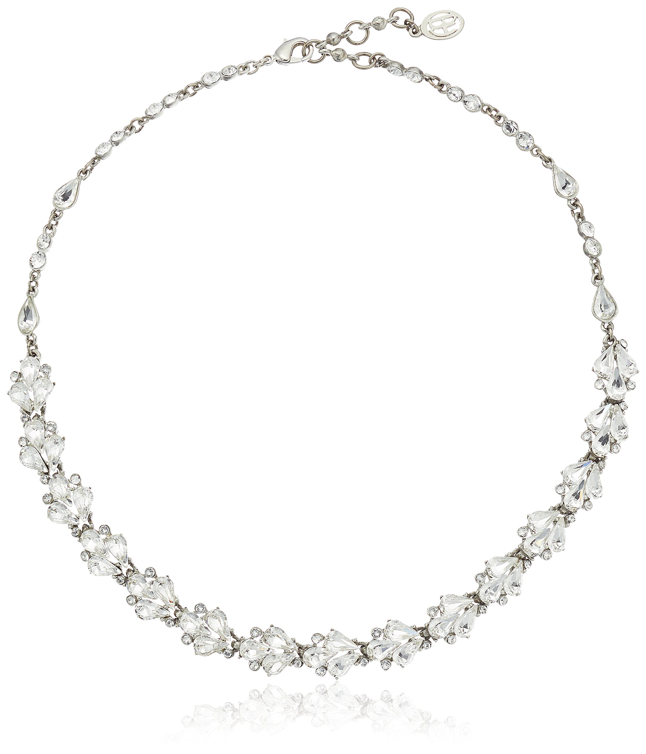 Ben-Amun Jewelry Cascading Crystal Necklace, 16'' + 1.5'' Extender