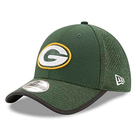 1ec879de51b Green Bay Packers New Era Green 2017 Training Camp 39Thirty Adult Hats  (Small Medium