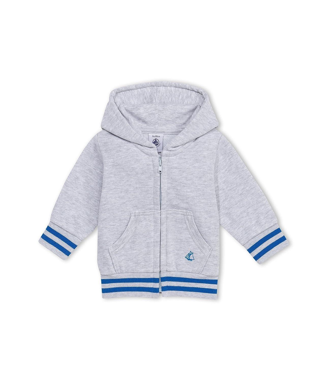 Petit Bateau Baby-Jungen Kapuzenpullover Sweat Shirt A Capuche