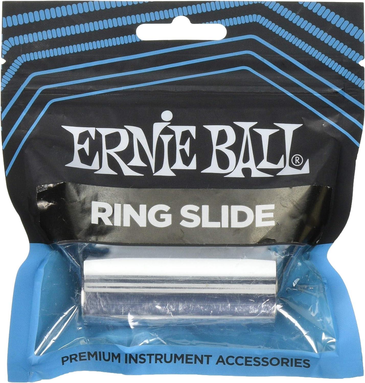 Ernie Ball Chrome plateado latón Pinky Guitar Slide: Amazon.es ...