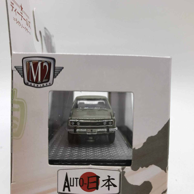 1 of 8800 M2 Machines Auto-Japan 1969 Datsun Bluebird 1600SSS WMTS07 18-10 Cream Gray Details Like NO Other