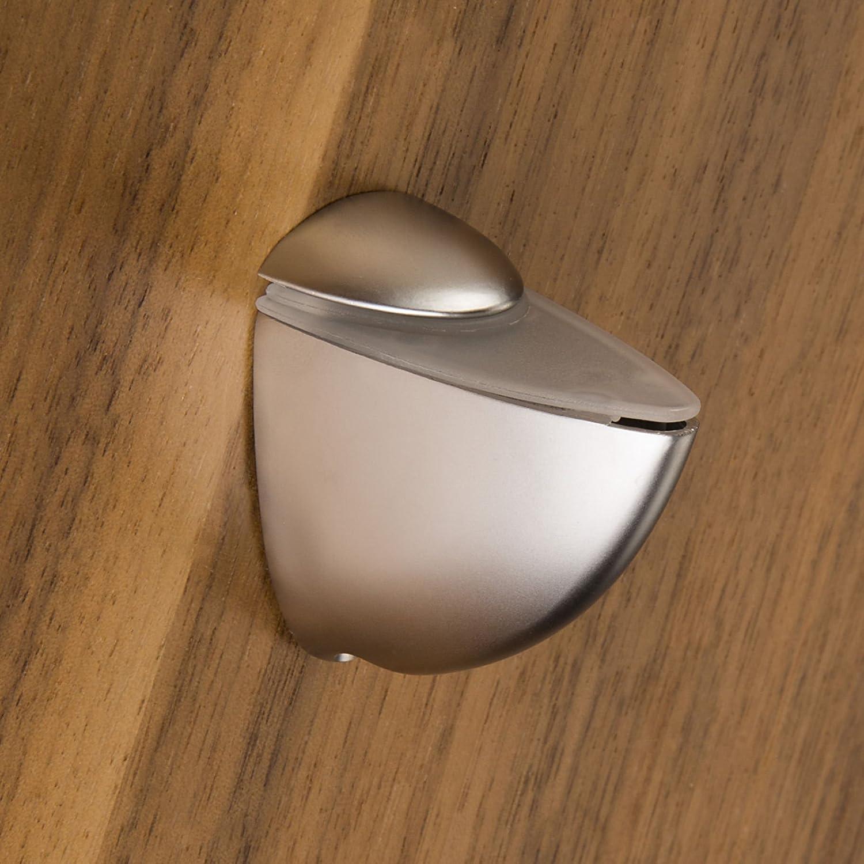 SO-TECH® Soporte para estantería de cristal PELIKAN (mini) cromo mate: Amazon.es: Bricolaje y herramientas