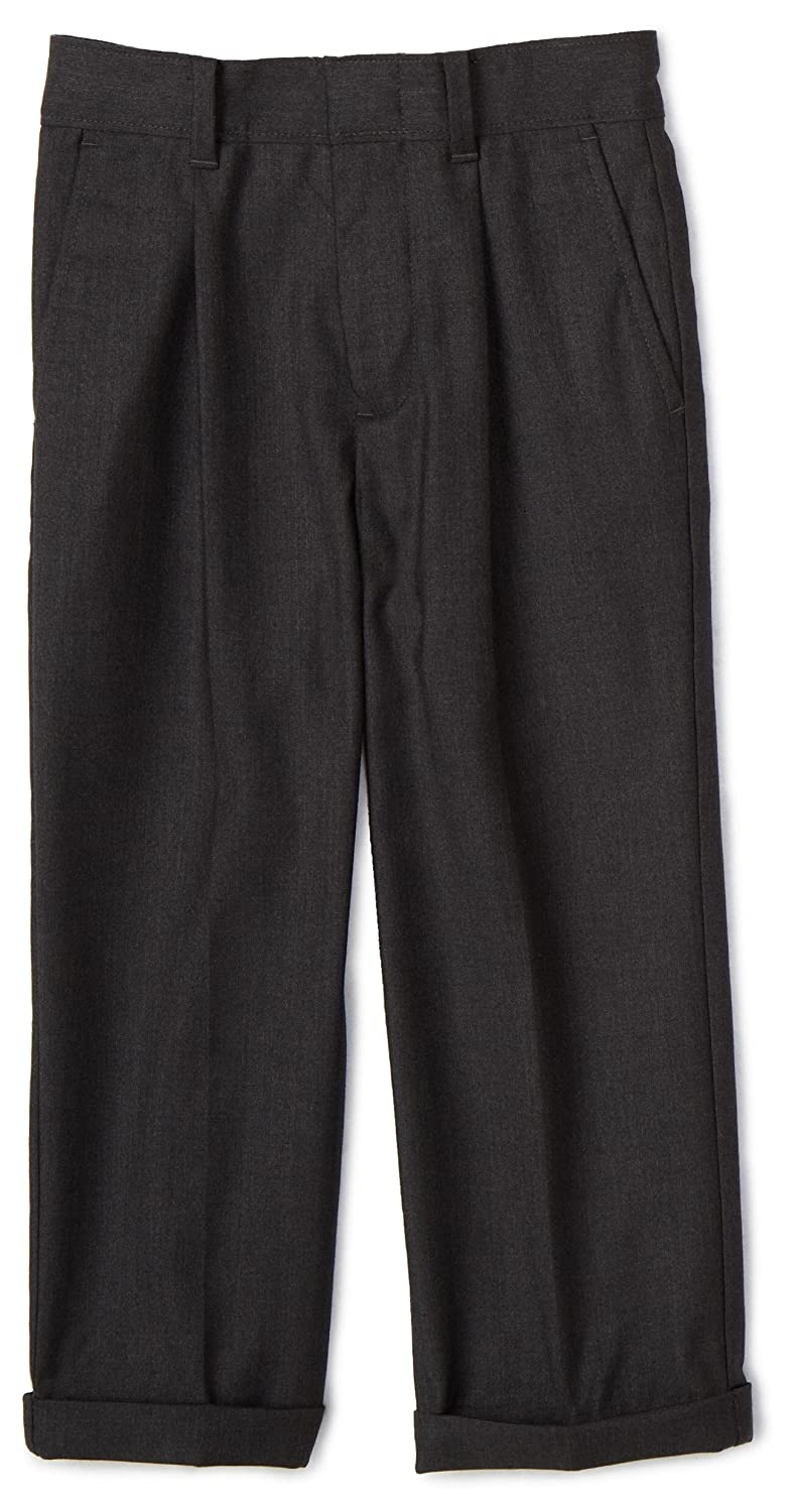 1940s Children's Clothing: Girls, Boys, Baby, Toddler Nautica Boys Charcoal Dress Pant $19.09 AT vintagedancer.com