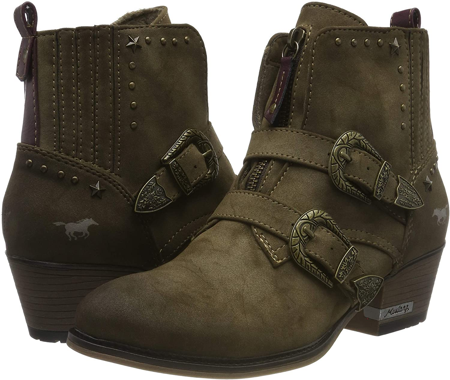 Mustang 1346-501-387 Stivali Western Donna