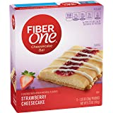 Fiber One Cheesecake Bar, Strawberry, Dessert Bar, 5 Fiber Bars, 6.75 oz