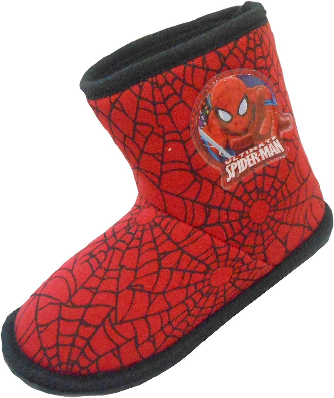 Boys Marvel Spider-Man Winter Slipper