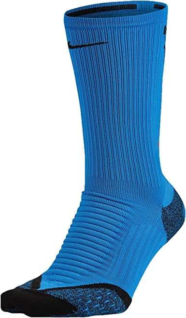 Amazon.com: Nike Elite Cushioned Crew Running Socks (Men's 6 ...