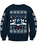 Doctor Who Angel Inspired Christmas Sweatshirt Jumper Adults